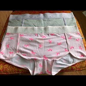 Victoria's  Secret Women's L boy short underwear
